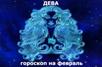 Дева : гороскоп на месяц февраль 2020
