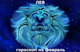 Лев : гороскоп на месяц февраль 2020